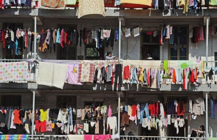 Expats will be fined for drying clothes in balcony