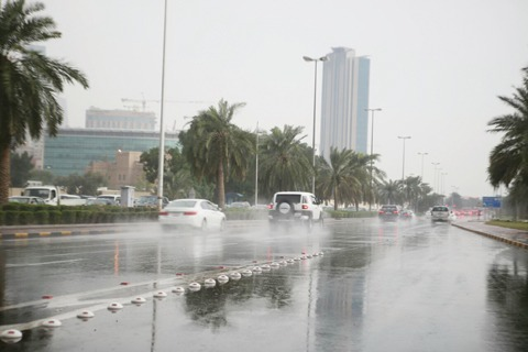 Rains expected in Kuwait this weekend