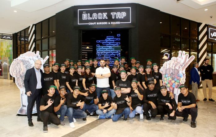 Popular New York Burger Joint Black Tap in Kuwait
