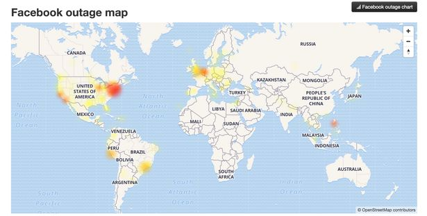 Facebook and Instagram DOWN across the world