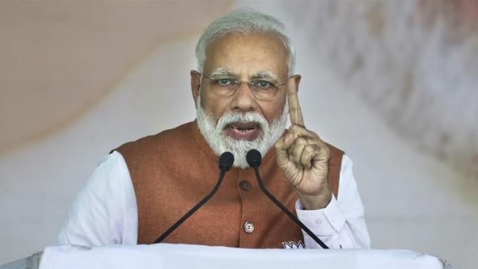 Modi kicks off election campaign with the promise of 'new India'