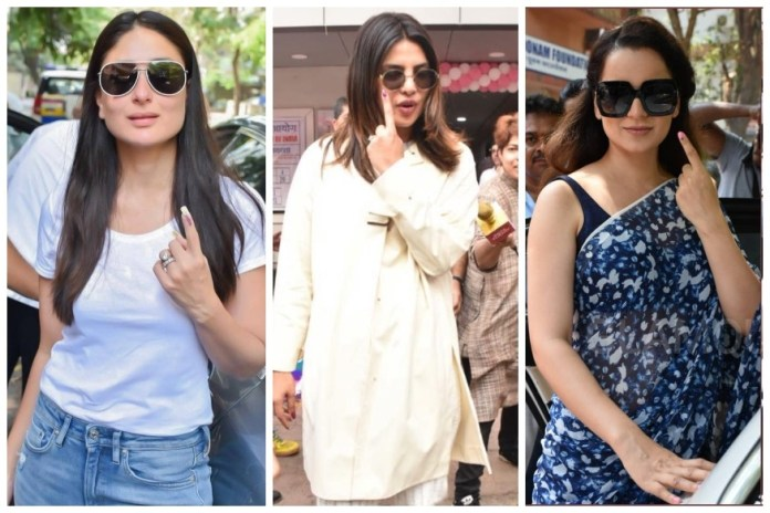 India elections 2019: Bollywood goes to vote