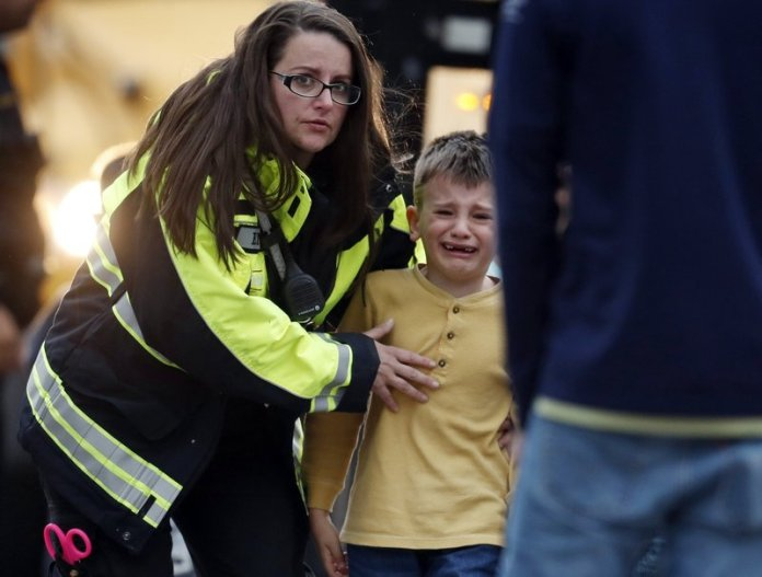 USA - 1 Dead, 8 injured in Denver school shooting