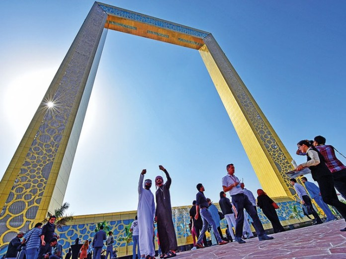 Dubai Frame breaks Guinness world record