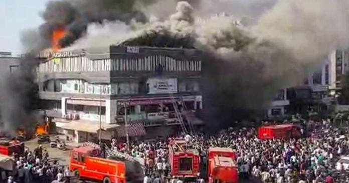 20 students dead in Surat fire, coaching centre owner arrested