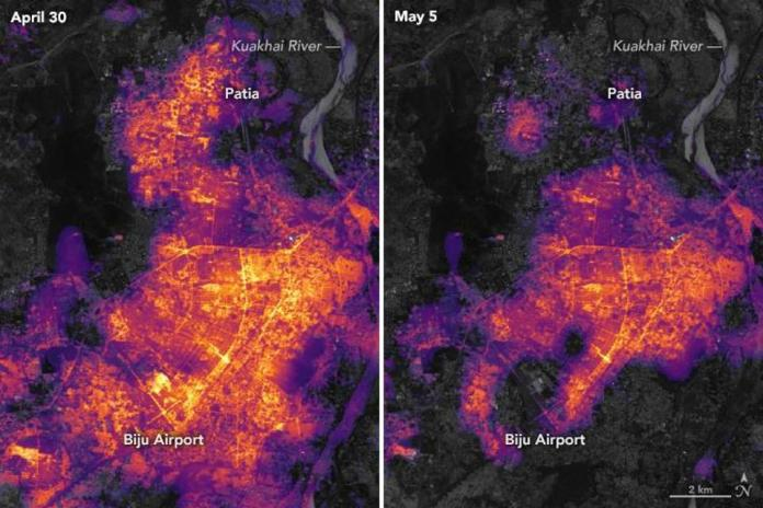 Bhubaneswar before and after Fani: NASA images hint trail of destruction