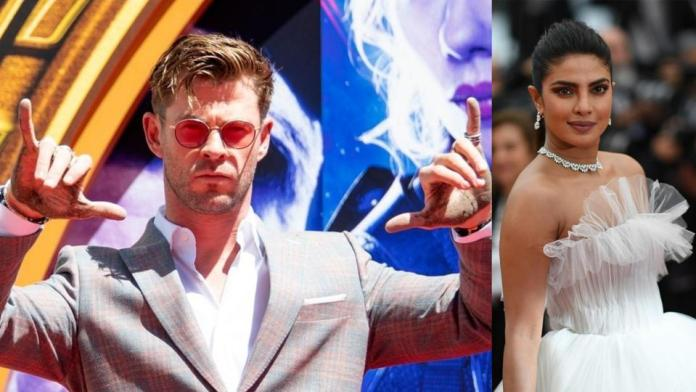Chris Hemsworth open to working with Priyanka Chopra in Bollywood, says 'send me a script and we'll find something out'