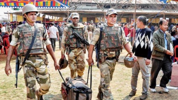 Jawan on poll duty in Bengal's Howrah killed as fellow jawan opens fire