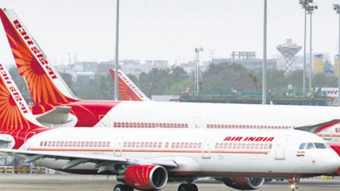 Air India plane executes an emergency landing in the UK due to bombing menace