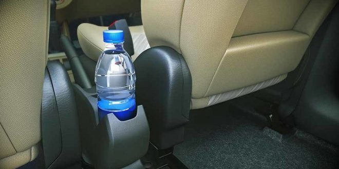 Expert recommends not to leave water bottles inside the car in hot summer