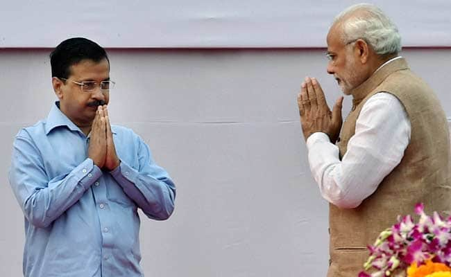 PM Modi and Kejriwal have oftentimes been at numskull with each other.