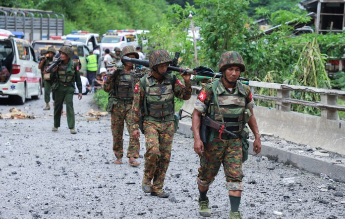 In Myanmar battle, more than 2,000 individuals relocated and 19 resulted in the death