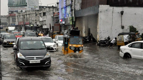 India: Hyderabad rainfall break 100-year old record for September