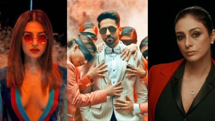 Ayushmann & Tabu shared a freakish AV; Celebrating one year of AndhaDhun