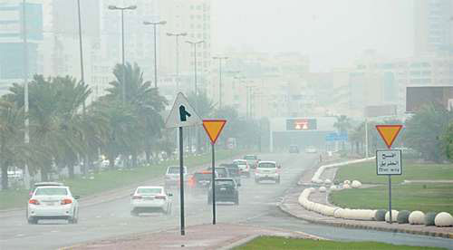 Temperature for the weekend will be drop by 5 degrees in Kuwait