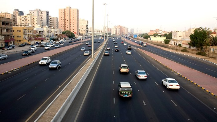 Kuwait's Fifth Ring Road Opens New Bridge