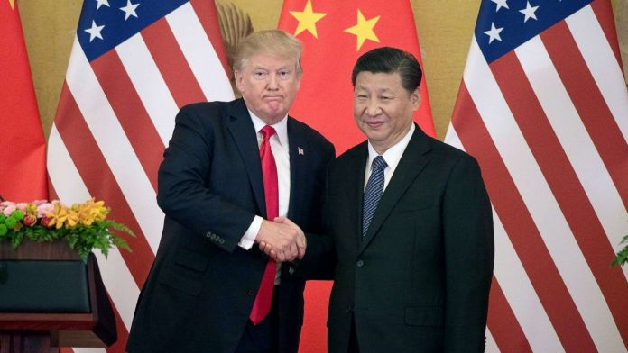 Donald Trump 'pleaded' for China to help him get re-elected