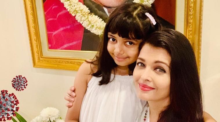 Aishwarya Rai Bachchan e sua filha Aaradhya também testam o positivo COVID-19 4