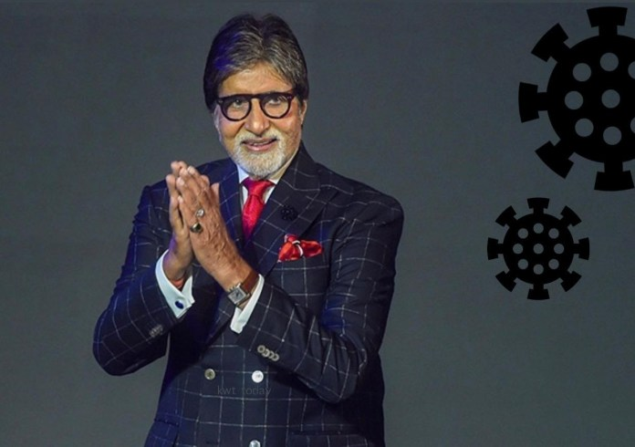 Actor Amitabh Bachchan tests positive for coronavirus