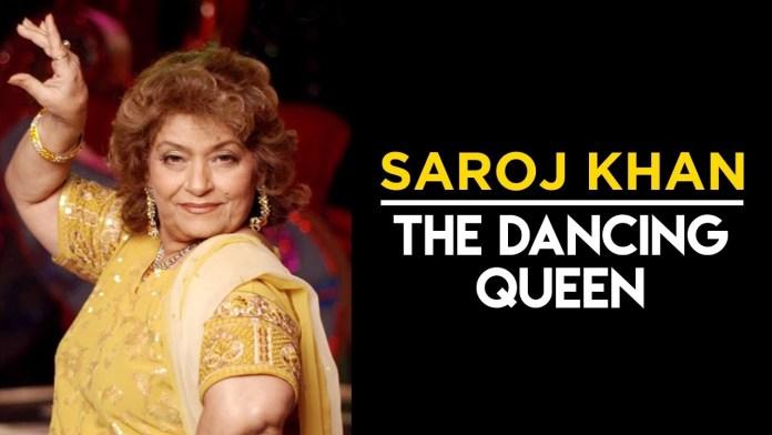 Ace choreographer Saroj Khan, dies at 71
