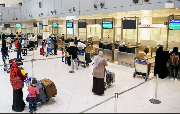 1,000 Indians begin to depart per day from Kuwait