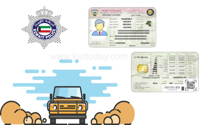 Kuwait: New driving license system to be launched