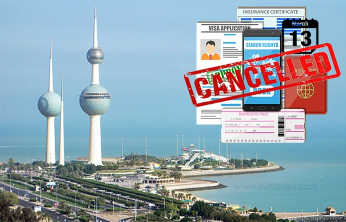 Kuwait: Visas issued before 13th March stands cancelled