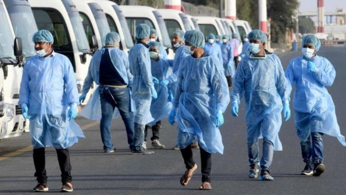 Kuwait: 116 stranded medical staff return from India
