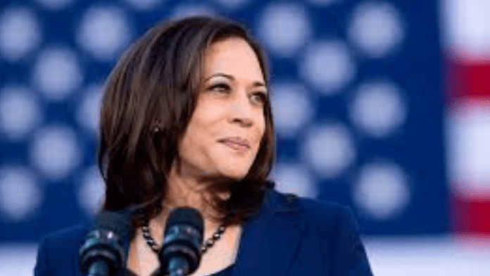 Kamala Harris receives second dose of the vaccine