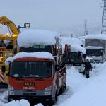 Snowstorm hits Japan