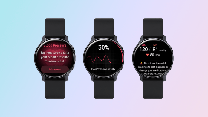 Samsung says smartwatch ECG, blood pressure measurement will go live in 31 more countries