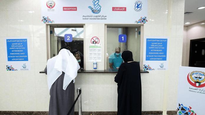 5.3% of the Kuwaiti population vaccinated