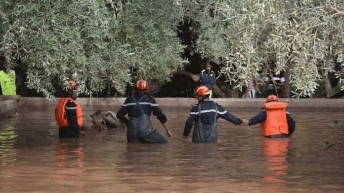 Morocco : Floods kill at least 24 in an underground factory