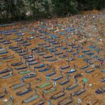Covid19 - Brazil graveyard workers dig 600 graves everyday