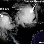 Rare tropical Cyclone Seroja approaches western Australia