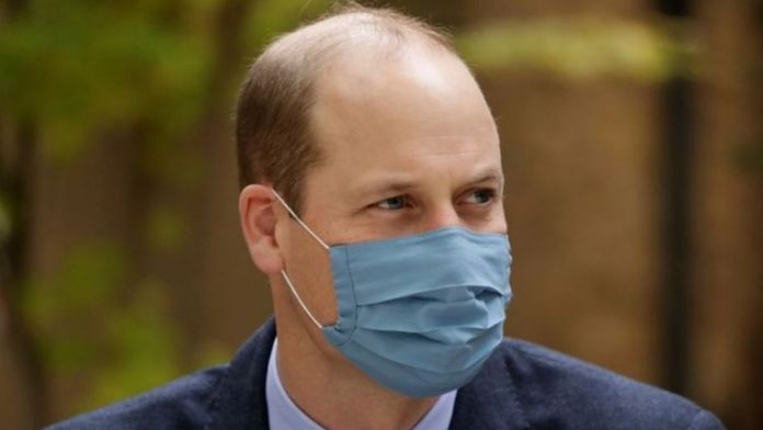UK - Prince William gets first Covid19 jab
