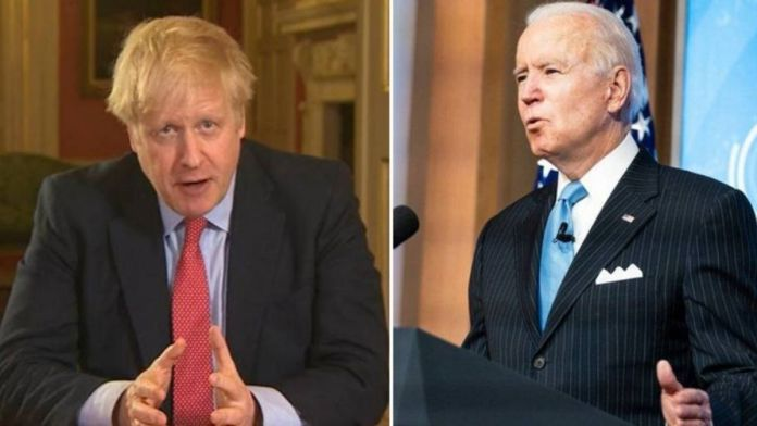 Joe Biden and Boris Johnson to hold an in-person meeting in Cornwall