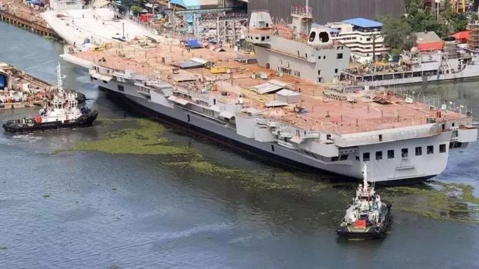 India's first 'made-in-India' Aircraft Carrier to be commissioned next year
