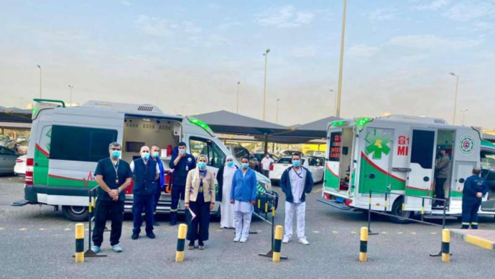 Kuwait: MoH mobile unit to vaccinate Abdali and Wafra farm workers today