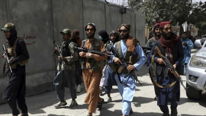 Taliban vehicles struck by attackers