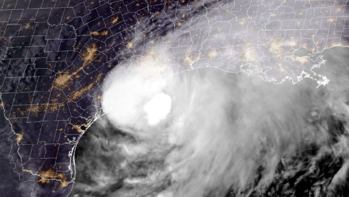 Hurricane Nicholas makes landfall in Texas after turning into category 1 storm