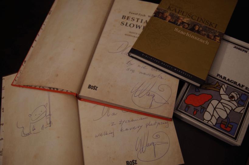 Targi Książki - autografy