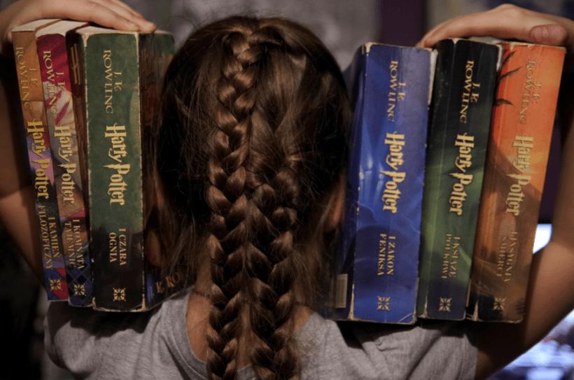Harry Potter - jak wychowałam fankę czytelnitwa