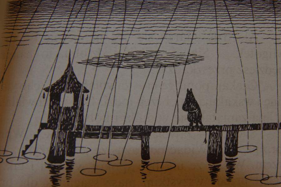 W Dolinie Munków - Tove Janssen - Ilustracje autorki