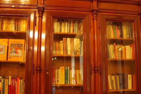 Zamek Moszna - bibliotek, bilbliteczka