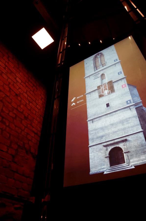 Hradec Králové - Czechy - Wieża Zegarowa - multimedialnie