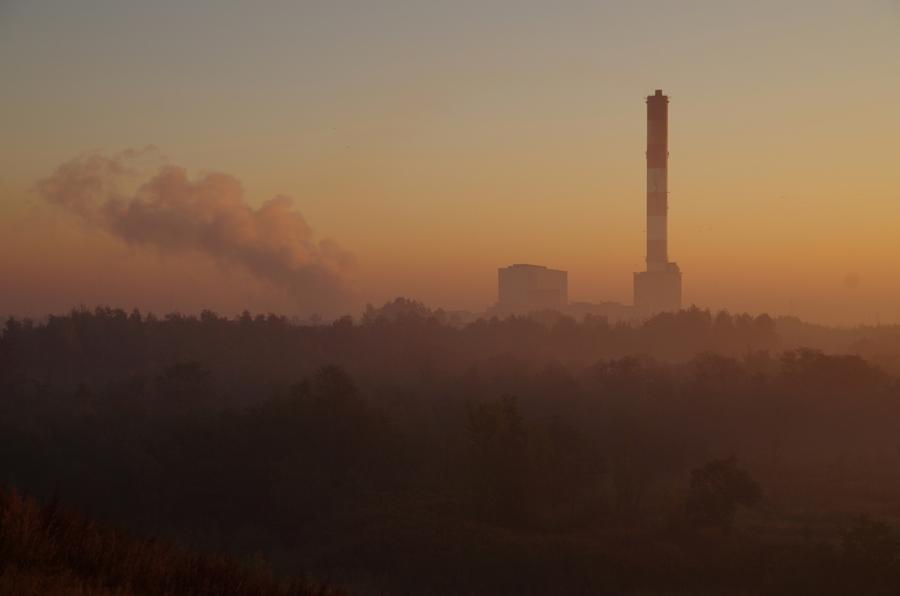 Alpy Wełnowieckie smog czy mgła?