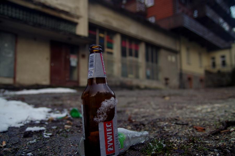 Międzygórze po PRL-u - piwko piweczko