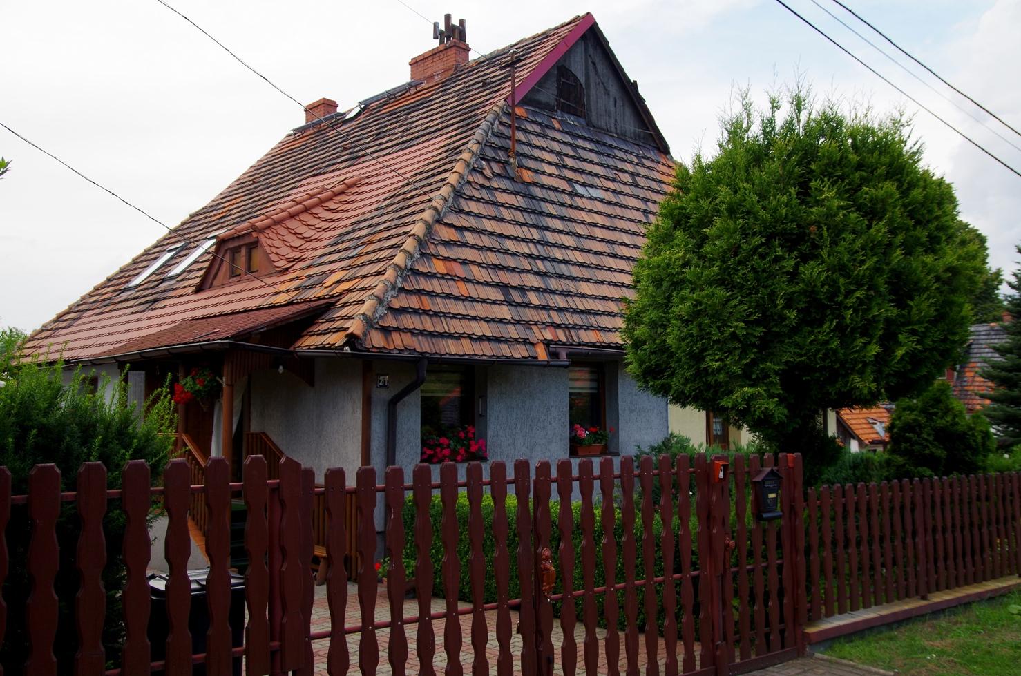 Jak poznać swoje miasto - Giszowiec - czerwone dachówki