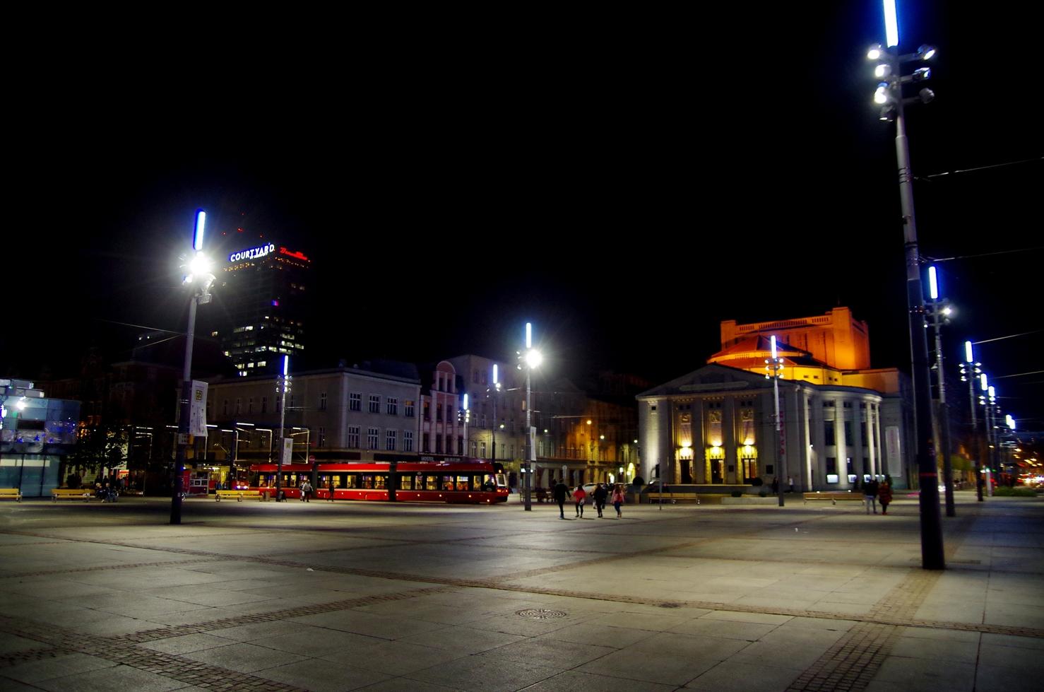 O tym jak poznać swoje miasto - Centrum Katowic - rynek